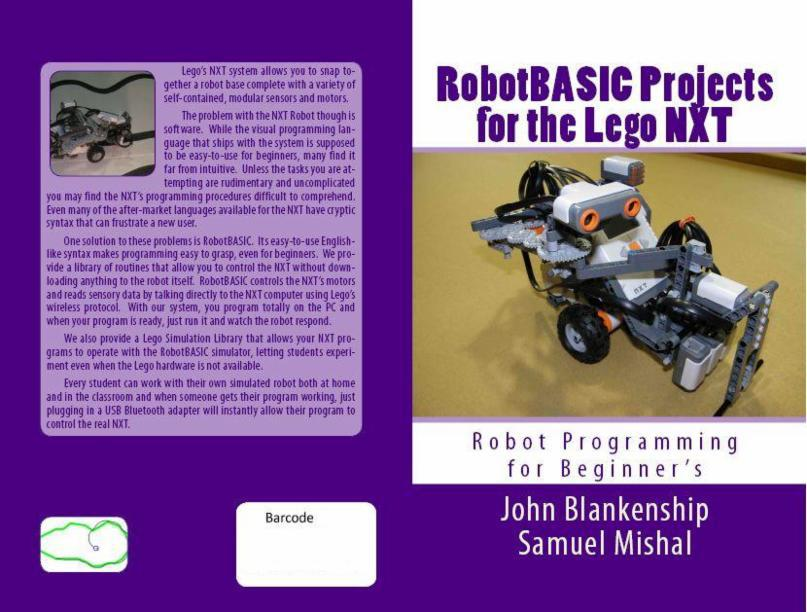 Be Controlled From RobotBASIC WITHOUT Downloading ANY Programs To The NXT Computer Book Will Provide Numerous Projects Involving Sound Line