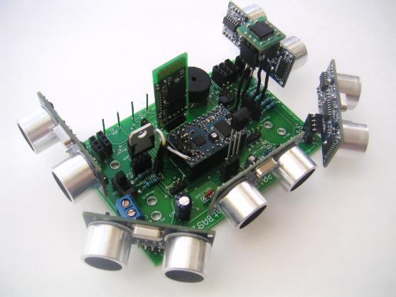 Our Printed Circuit Board See Above Makes It Even Easier To Build A RobotBASIC Compatible Robot Just Add Your Choice Of Sensors Bluetooth