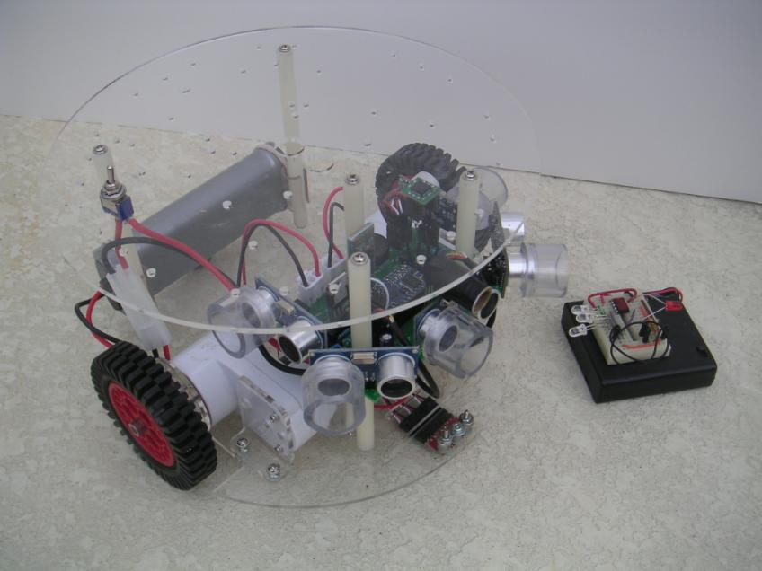 The RB 9 Can Be Controlled From RobotBASIC Over A Bluetooth Link Your WIndows PC If Computer Does Not Have Built In Capability