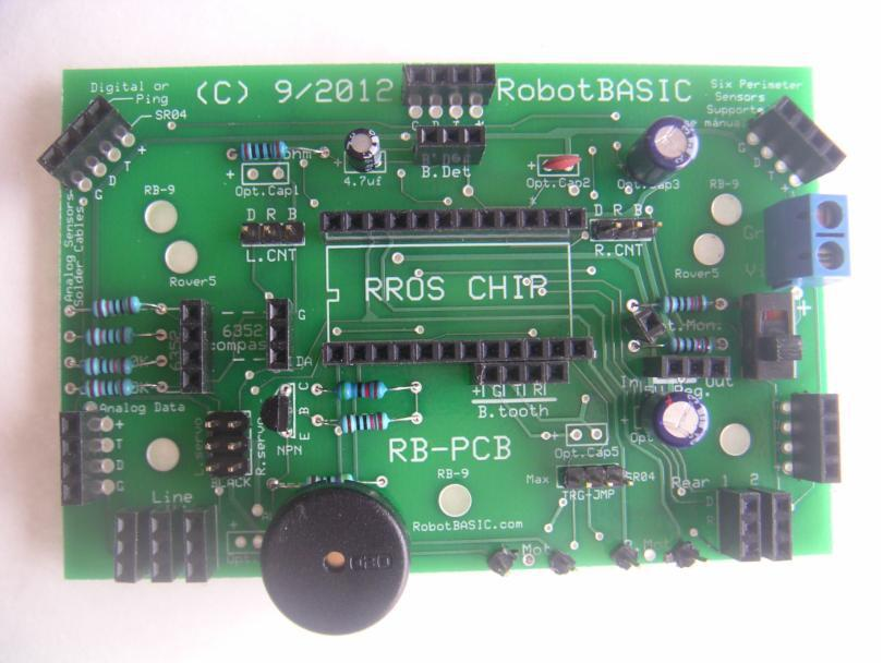 Our New RROS Based PC Board Makes It Easy To Incorporate Chip Into Your Projects The Supports Most Of Sensory Modes And A Wide Variety