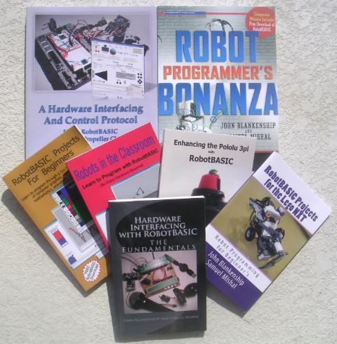 Detailed Descriptions And Sample Chapters Are Also Available Through Various Pages Here At RobotBASIC Most Of These Books Directly From Us